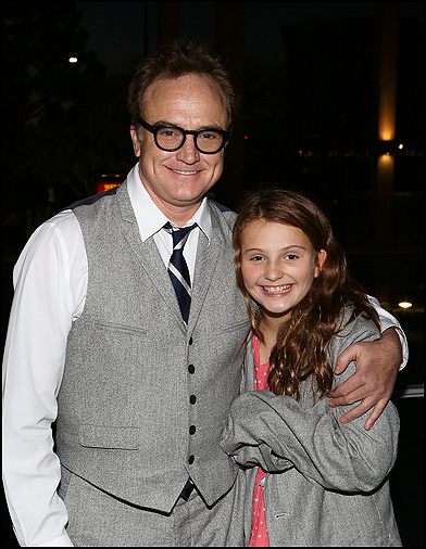 Bradley Whitford and Mary Whitford