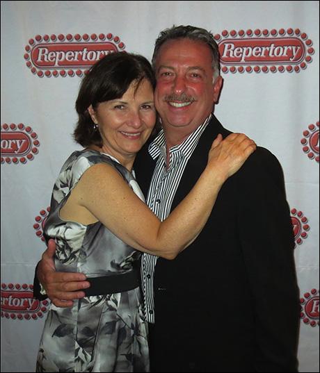 Tony Nominee Mary Gordon Murray and her leading man, Michael Marotta - our delightful Fraulein Schneider and Herr Shultz