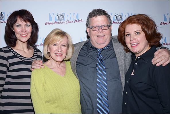 Lynne Wintersteller, Joy Franz, James Morgan and Klea Blackhurst