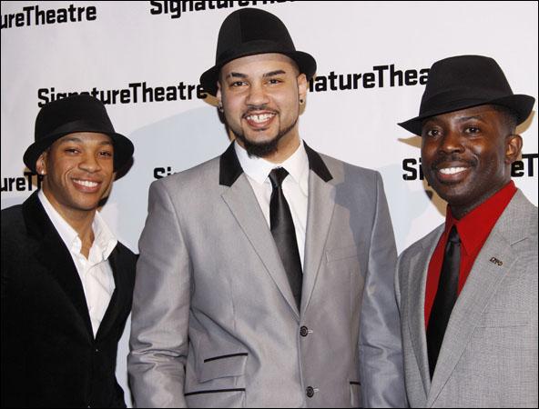 Lloyd Watts, Nicholas Christopher and Charlie Hudson III