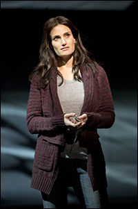 Idina Menzel in <i>If/Then</i>.