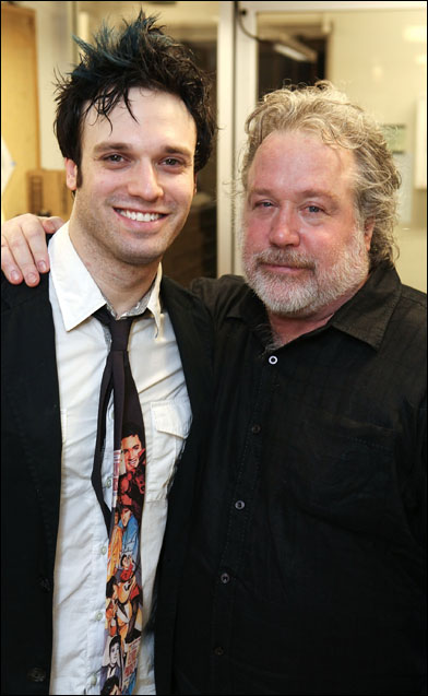 Jake Epstein and Tom Hulce