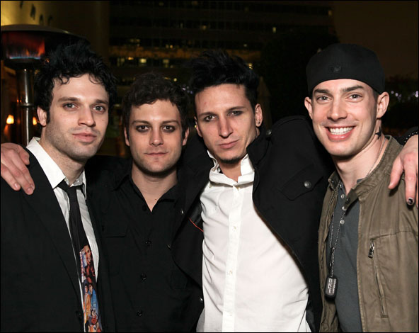 Jake Epstein, Van Hughes, Joshua Kobak and Scott J. Campbell