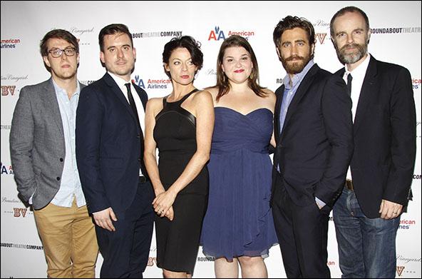Nick Payne, Michael Longhurst, Michelle Gomez, Annie Funke, Jake Gyllenhaal and Brian F. O'Byrne