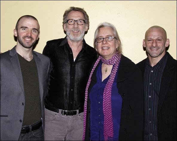 Brian Ellingsen, Stephen Spinella, Lisa Peterson and Mark Bennett
