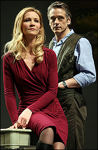 <I>Impressionism</I> stars Joan Allen and Jeremy Irons