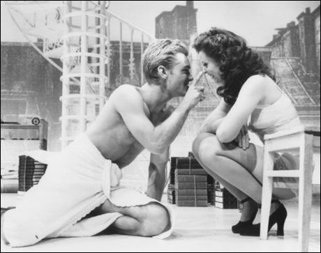 Jude Law and Cynthia Nixon in Broadway's Indiscretions, 1995