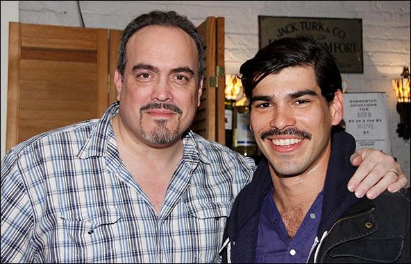 David Zayas and Raúl Castillo