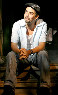 Tony-winning <I>In the Heights</I> creator and original star Lin-Manuel Miranda.