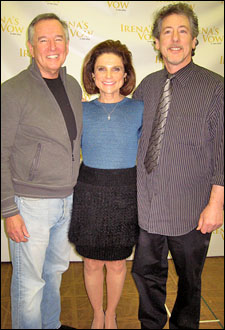 Playwright Dan Gordon, Tovah Feldshuh and director Michael Parva