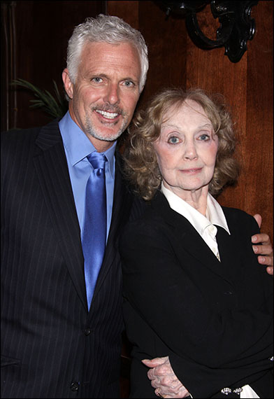 Patrick Cassidy and Charlotte Moore