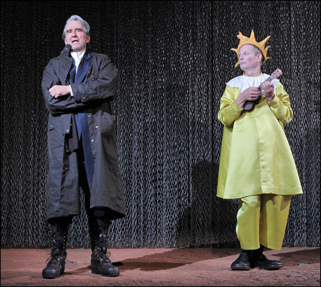 king lear and the fools relationship