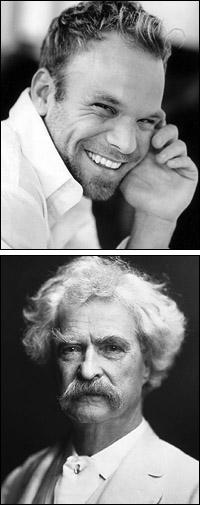 Norbert Leo Butz and Mark Twain