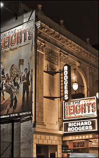 The Richard Rodgers Theatre has housed nine long-running shows