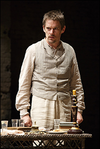 Ethan Hawke in <i>Ivanov</i> by Off-Broadway's Classic Stage Company..