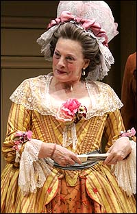 Dana Ivey in <I>The Rivals</I>