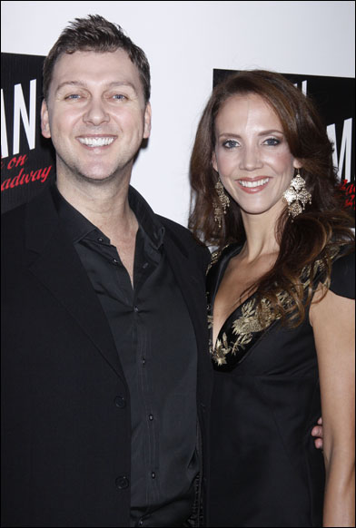 Warren Carlyle and Angie Canuel