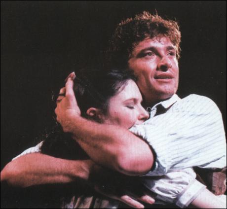 Josefina Gabrielle and Hugh Jackman in Oklahoma!, London
