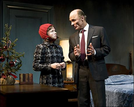 Juliet Brett and Ed Harris