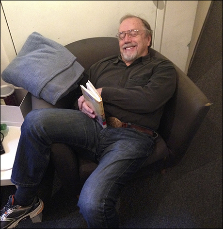George Lee Andrews caught dozing on a two show day!