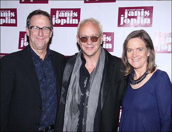 Michael Joplin, Randy Johnson and Laura Joplin
