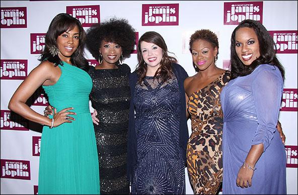De'Adre Aziza, Taprena Michelle Augustine, Mary Bridget Davies, Nikki Kimbrough and Allison Blackwell