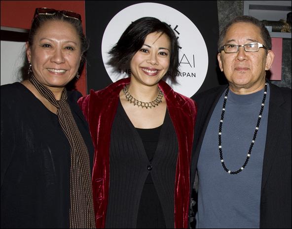 Jade Wu, Angel Desai and Philip Kan Gotanda