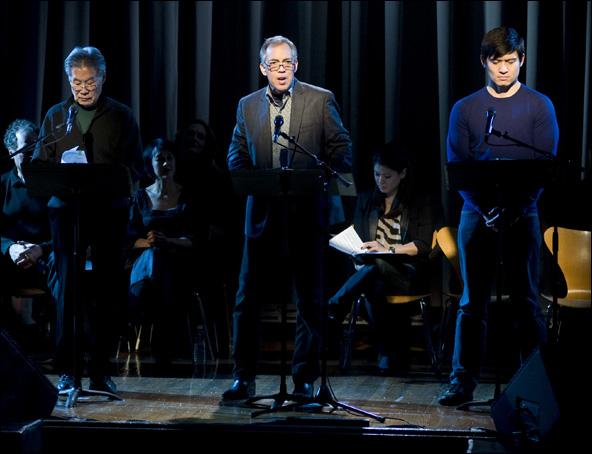 Sab Shimono, Thom Sesma and Paolo Montalban