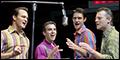 Jeremy Kushnier, Jarrod Spector, Matt Bogart and Drew Gehling Are Broadway's Jersey Boys