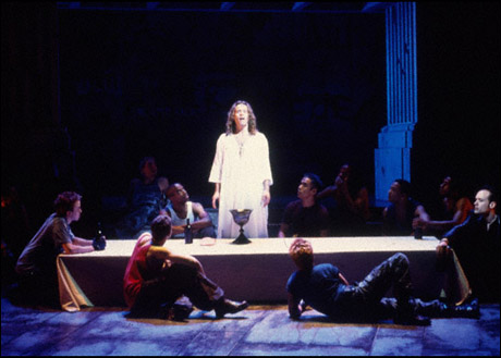 Glenn Carter and company in the 2000 Broadway revival