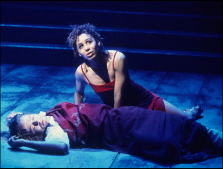 Glenn Carter and Maya Days in the 2000 Broadway revival