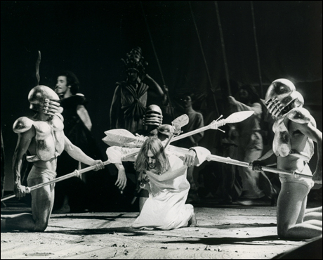 Jeff Fenholt and company in the original Broadway production