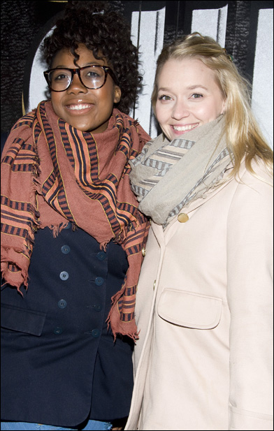 Katrina Reynolds and Krista Leis