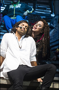 Ben Forster and Mel C