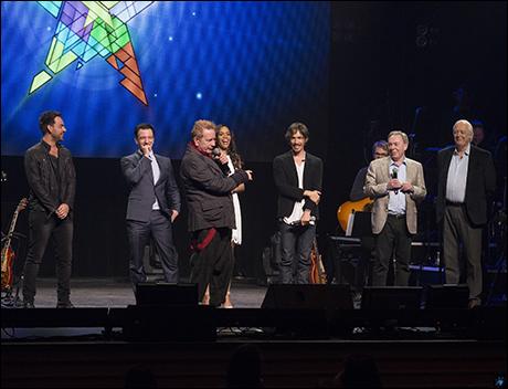 Ben Forster, Johnny Rotten, JC Chasez, Michelle Williams, Brandon Boyd, Andrew Lloyd Webber and Tim Rice
