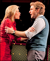 Marin Mazzie and Jason Danieley in <i>Next to Normal</i>