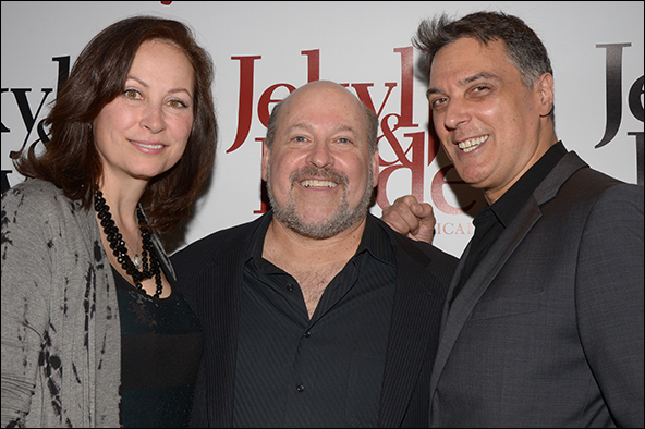 Linda Eder, Frank Wildhorn and Robert Cuccioli