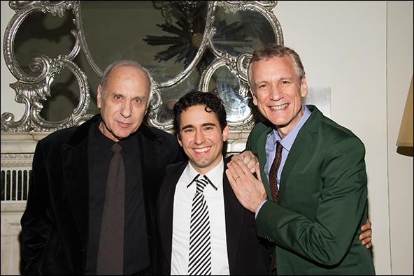 Marshall Brickman, John Lloyd Young and Rick Elice