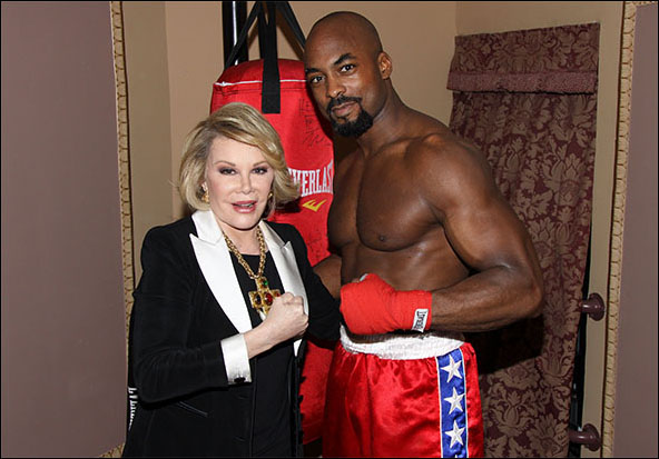 Joan Rivers and Terence Archie