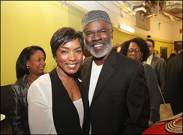 Angela Bassett and Glynn Turman