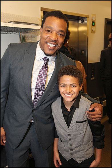 Russell Hornsby and Nathaniel James Potvin
