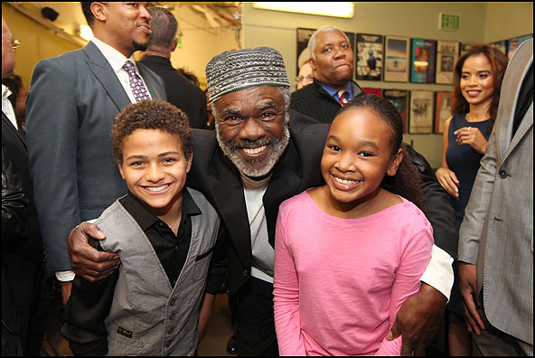 Nathaniel James Potvin, Glynn Turman and Skye Barrett