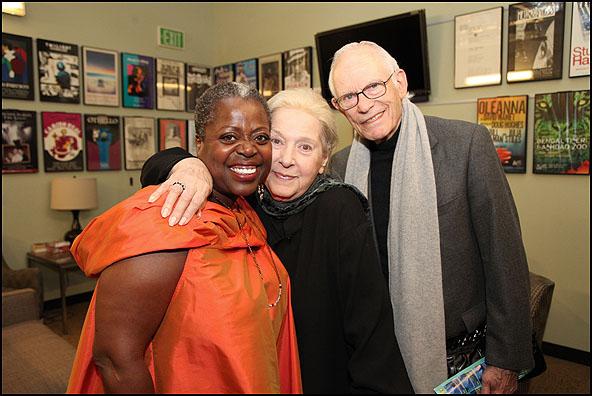 Lillias White, Marilyn Bergman and Alan Bergman