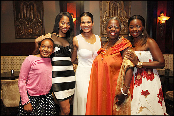 Skye Barrett, Vivian Nixon, January LaVoy, Lillias White and Erica Tazel