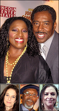 <I>Joe</I> stars LaTanya Richardson Jackson and Ernie Hudson; guests Debra Winger, Samuel L. Jackson and widow Costanza Romero