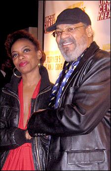 Aunjanue Ellis and Roger Robinson