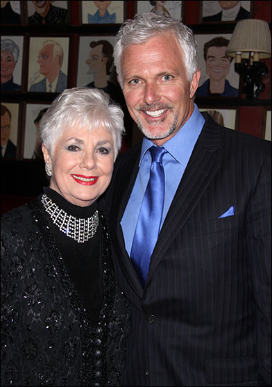 Family Night: Shirley Jones and Patrick Cassidy helped the Irish Rep celebrate their 25th Anniversary on June 10.