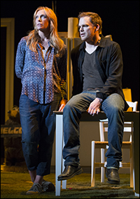 Toni Collette and Michael C. Hall