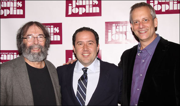 Michael Cohl, Todd Gershwin and Daniel Chilewich