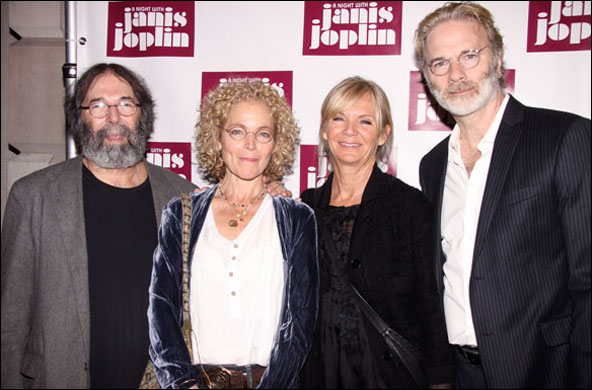 Michael Cohl, Amy Irving, Shelley Cohl and Kenneth Bowser